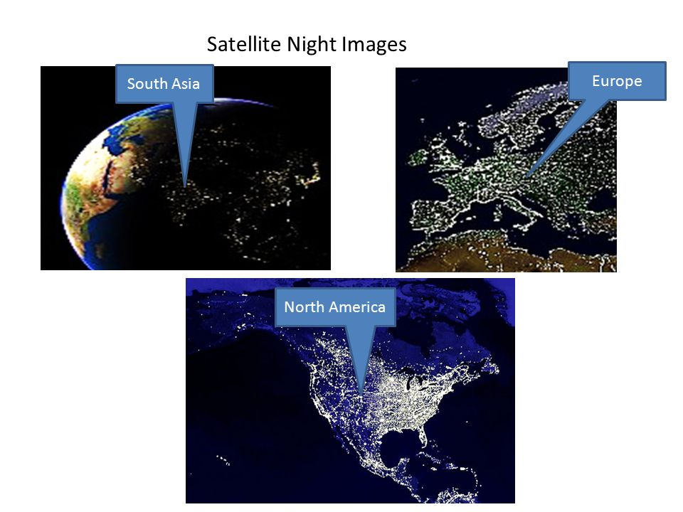 Satellite Night Images