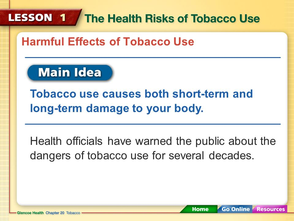 The hazardous effect of smoking essay