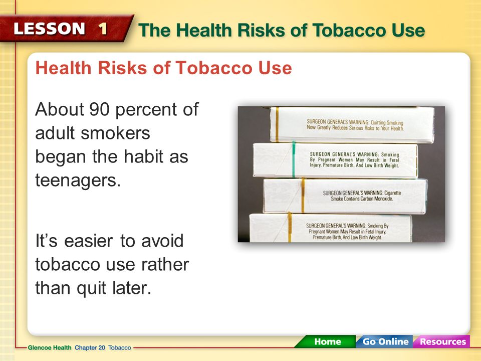 Health Risks of Smoking Tobacco
