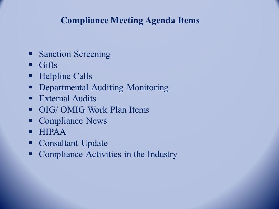 corporate compliance program updates