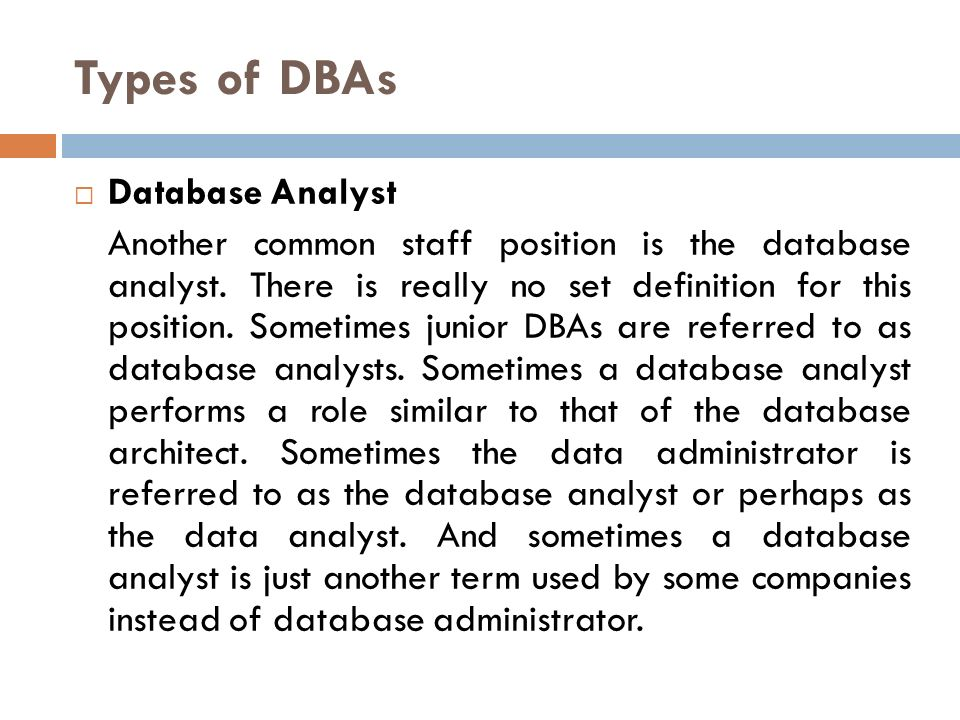 how to become a junior database administrator