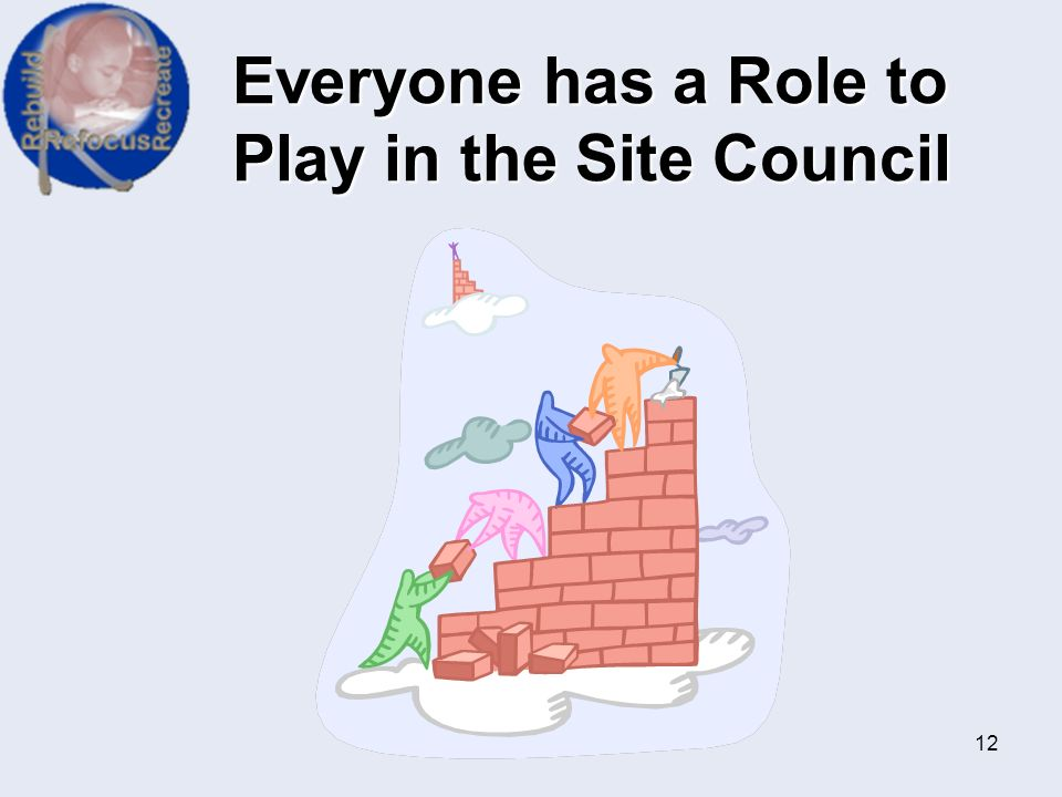 Everyone has a Role to Play in the Site Council