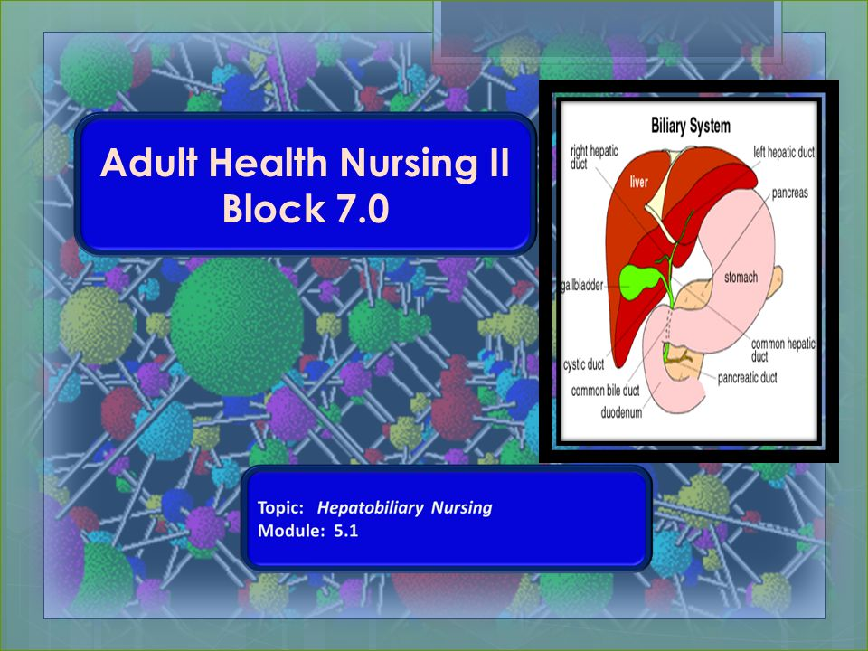 Adult Health Nursing 109