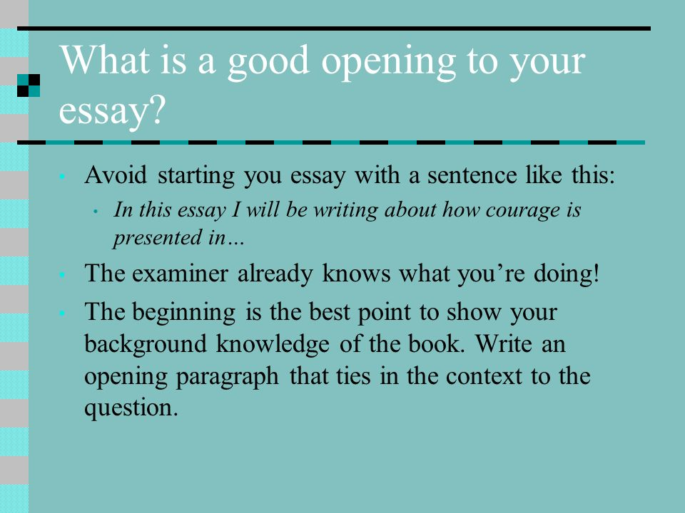 to kill a mockingbird success criteria ppt  what is a good opening to your essay