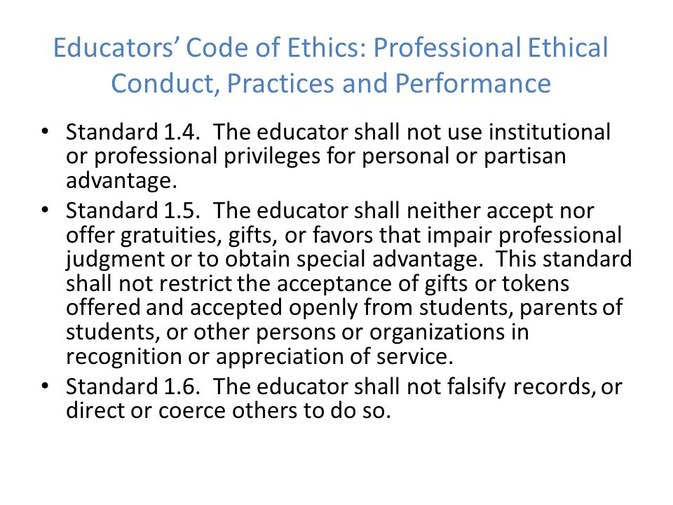 ethical practices and compliance with code It is no guide for exemplary behavior—or even good practice those managers  who define ethics as legal compliance are implicitly endorsing a code of moral.