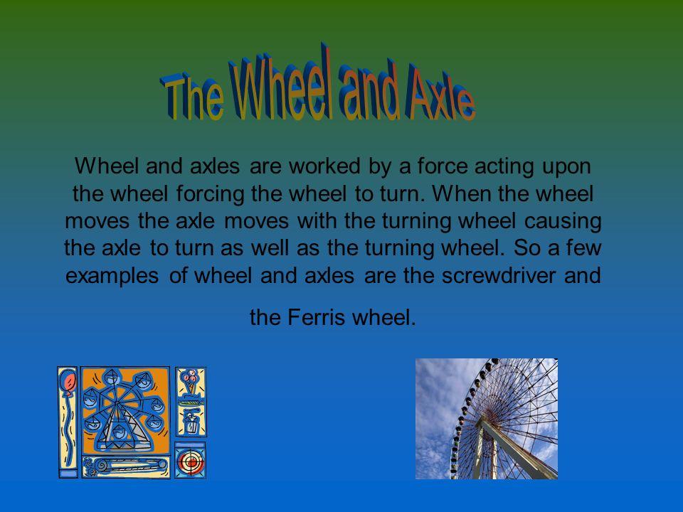 Examples Of Wheel And Axle simple machinesmichael wegener. - ppt download