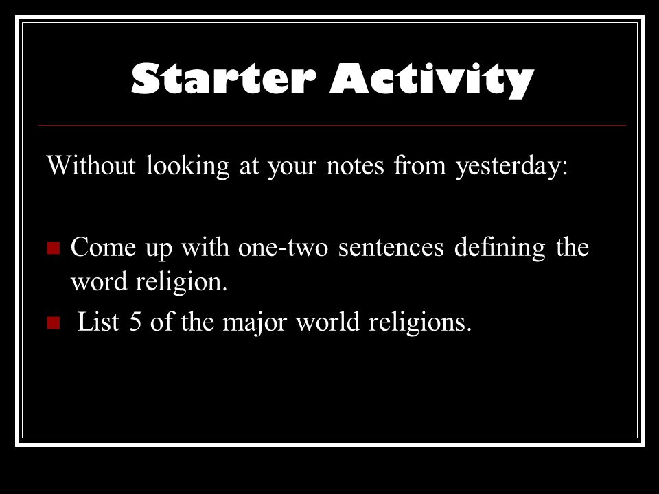Nine Dimensions Of Religion Ppt Video Online Download - List of major world religions