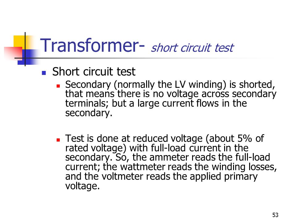 Primary Voltage Tester : Chapter transformer ppt video online download