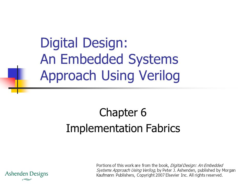 Digital Design An Embedded Systems Approach Using Verilog Ppt Video Online Download