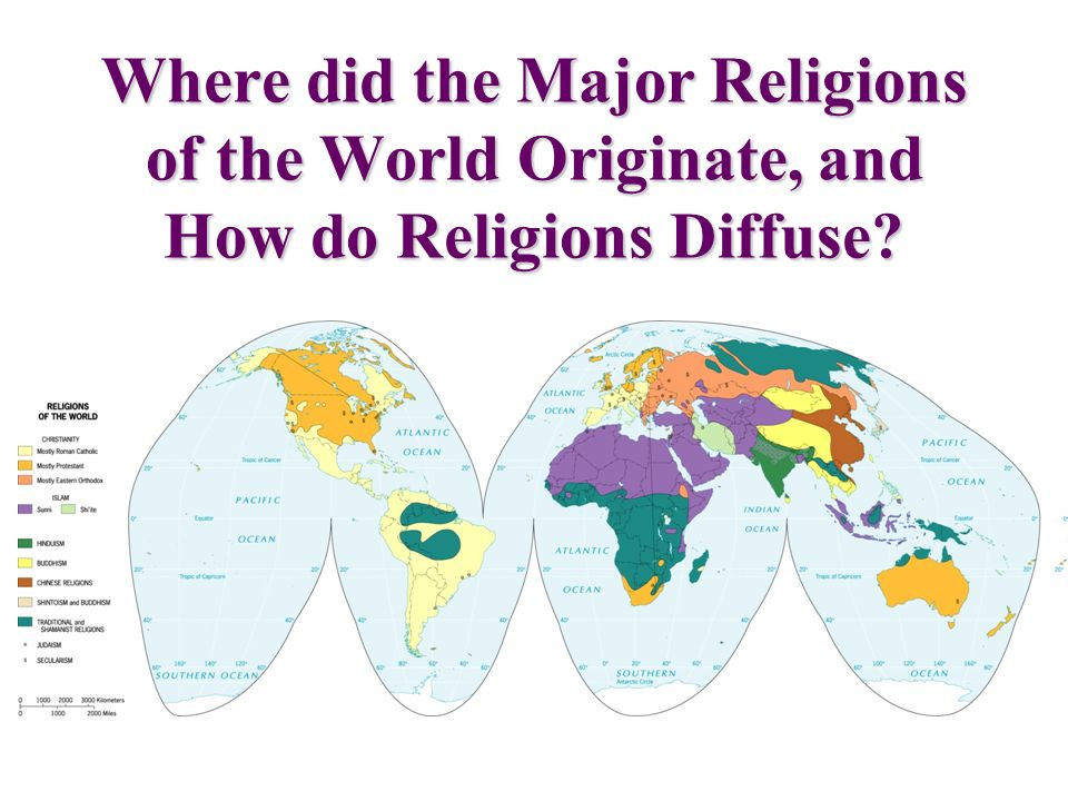 how did the world begin religion Get an answer for 'when did these religions begin christianity, judaism, and islam' and find homework help for other social sciences questions at enotes.