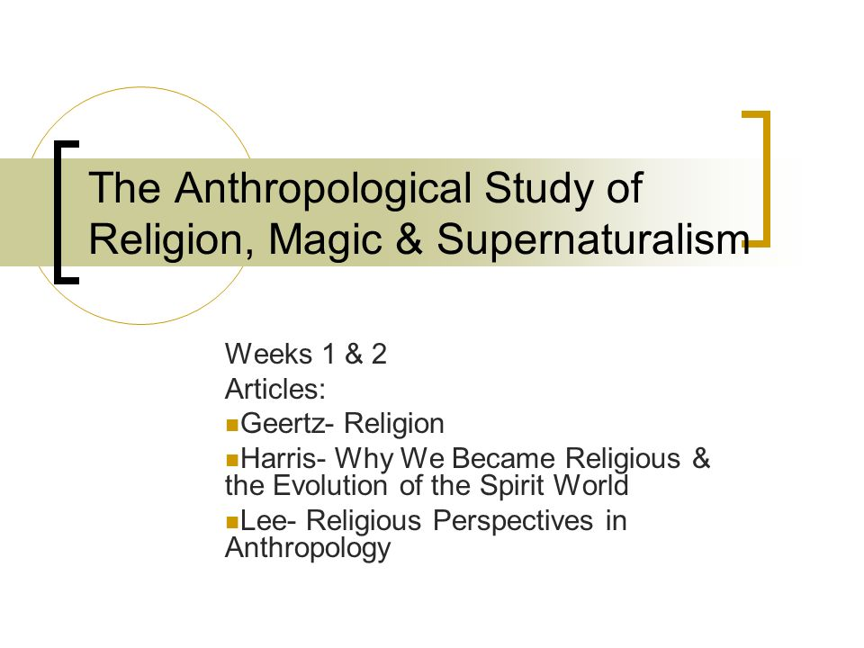 difference between religion and magic anthropology