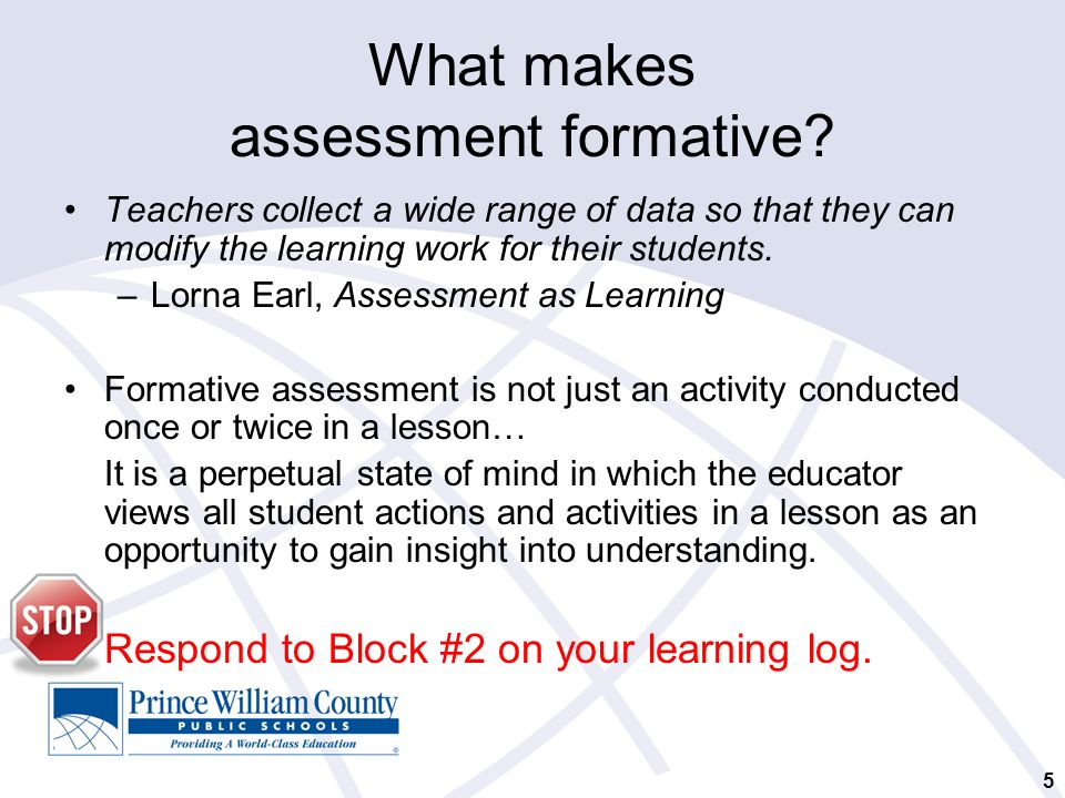 Formative Assessment: Checking For Understanding By All Students
