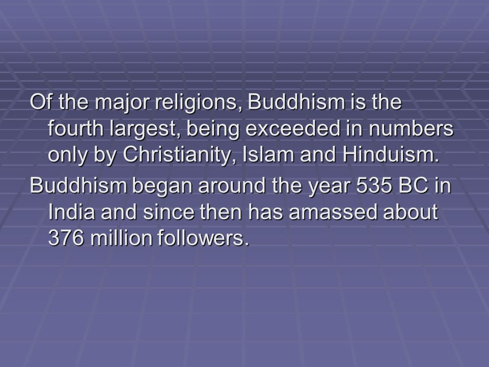Major World Religions Overview Ppt Download - World religions explained