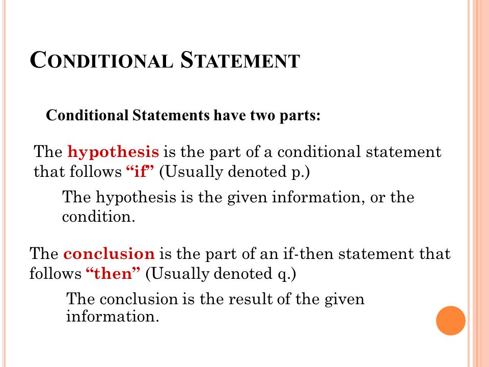 Conditional statements worksheet kuta