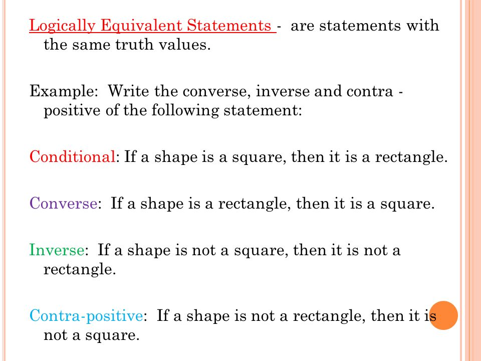 Worksheets Converse Inverse Contrapositive Worksheet logic conditional statements and deductive reasoning ppt download 30 logically equivalent