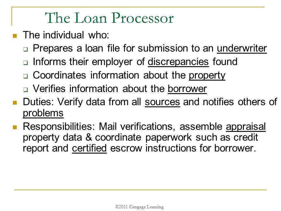 Duties Of A Loan Processor. Processor Resume Resume Cv Cover