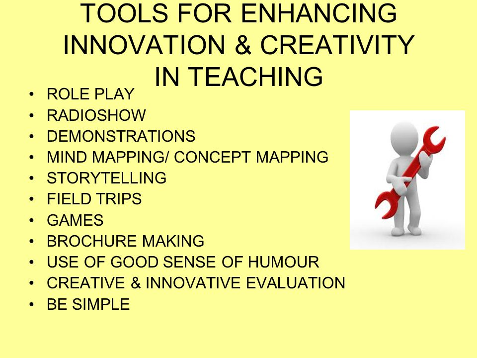 Innovative Use Of Classroom : Innovation creativity in classroom teaching ppt video