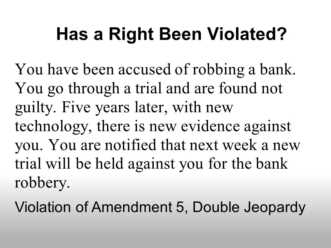 an analysis of what is not a direct violation of the first amendment of the constitution That hitherto unremarked violation of the third amendment gives us a fresh this obvious violation of the constitution the volokh conspiracy.