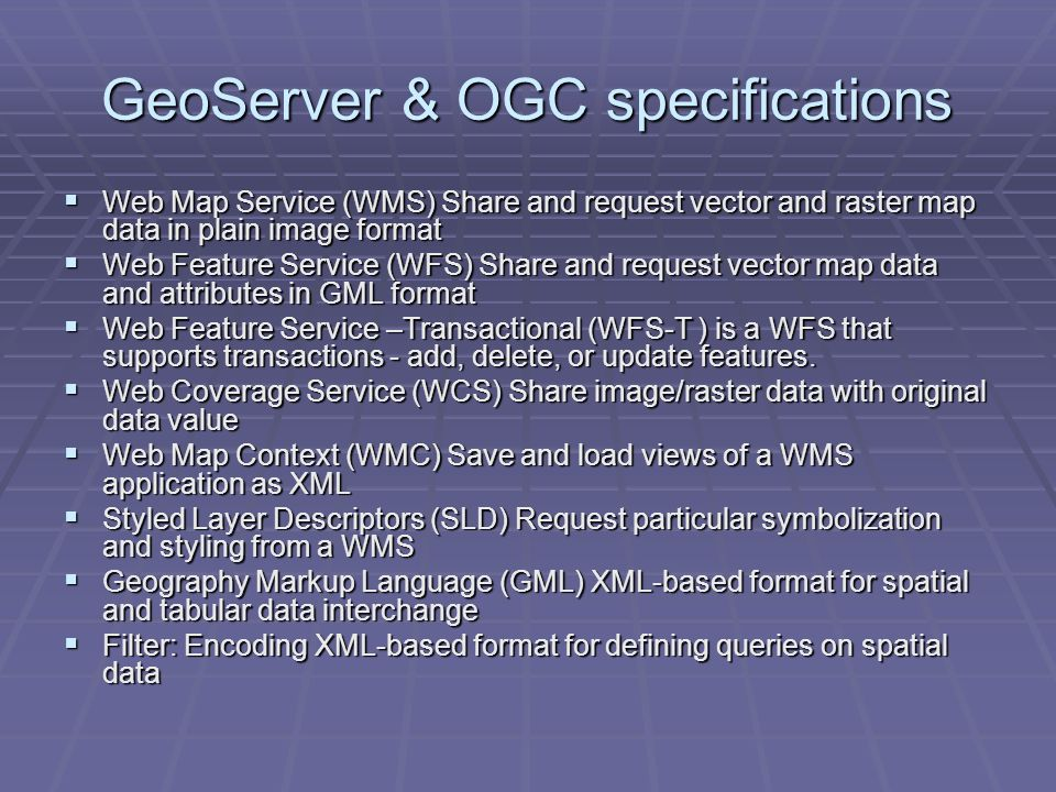 geoserver wfs editing services
