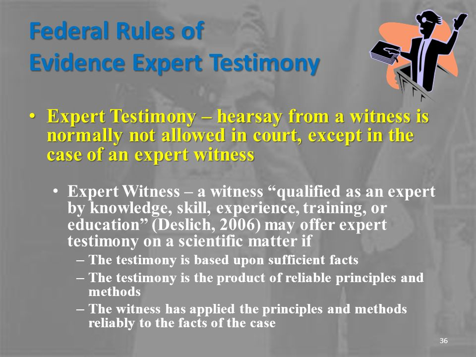the rules and qualifications of an expert witness This paper looks at some of those qualifications under what is known as the locality rule tennessee's medical malpractice act this rule shall apply to expert witnesses testifying for the defendant as rebuttal witnesses.