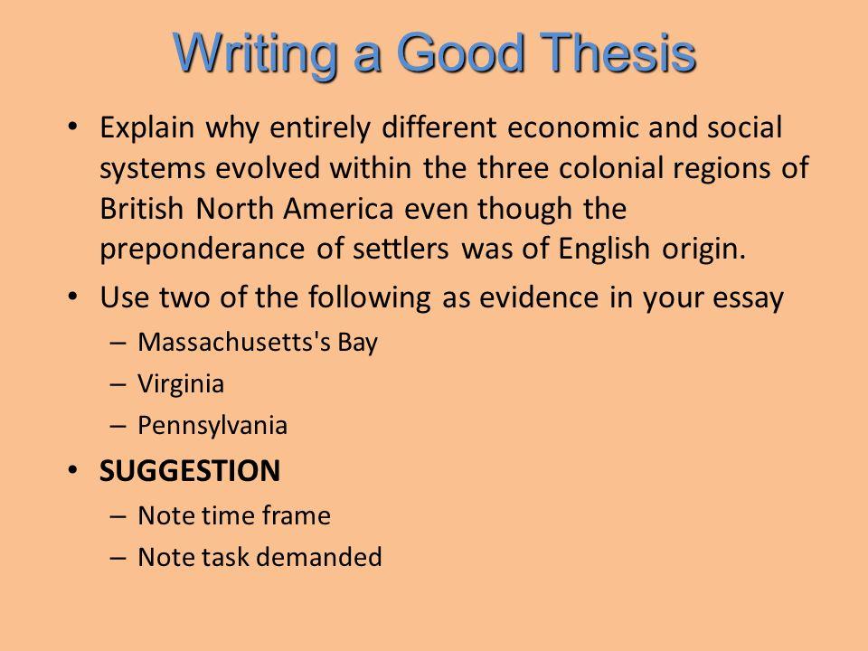 Good thesis statements argumentative essay