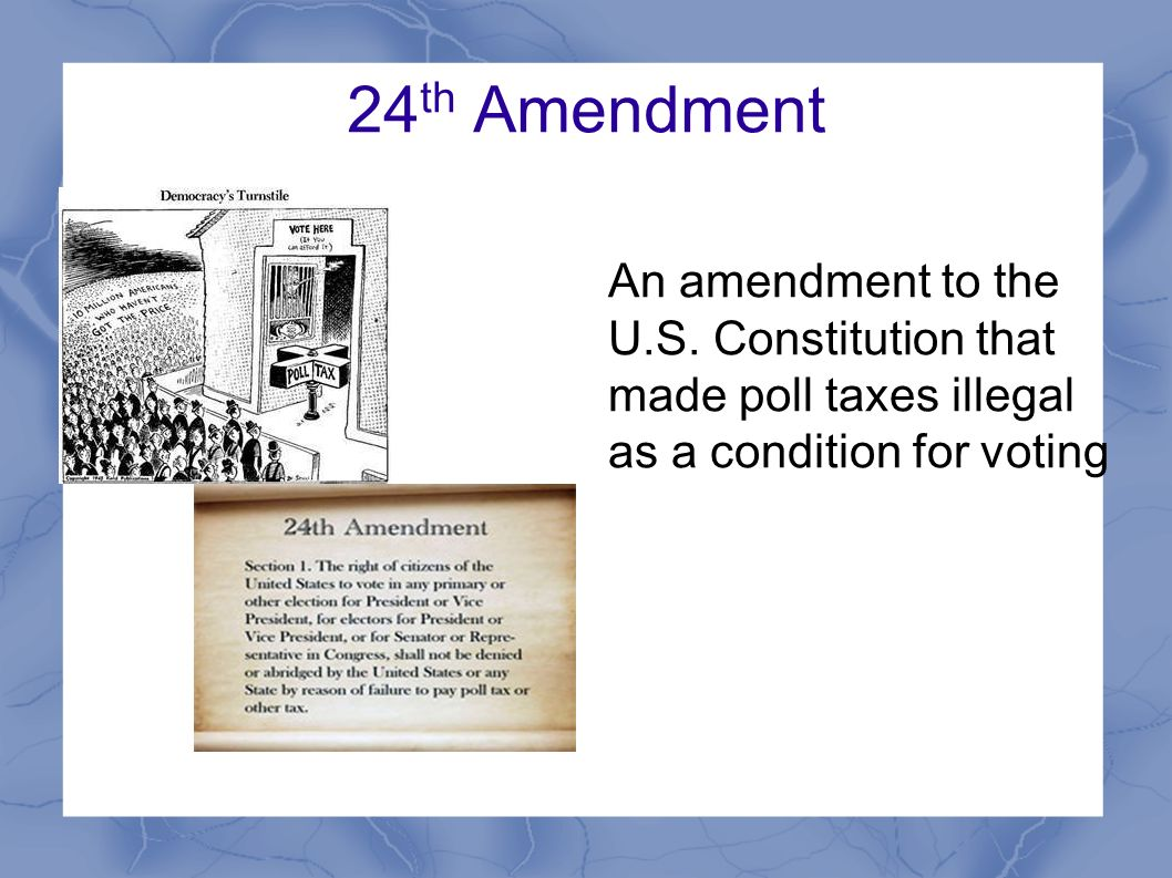 Notes on the Amendments  The US Constitution Online