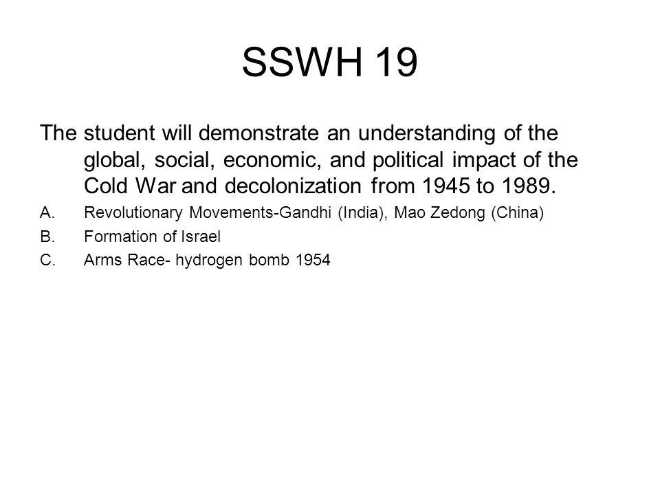 SSWH 19