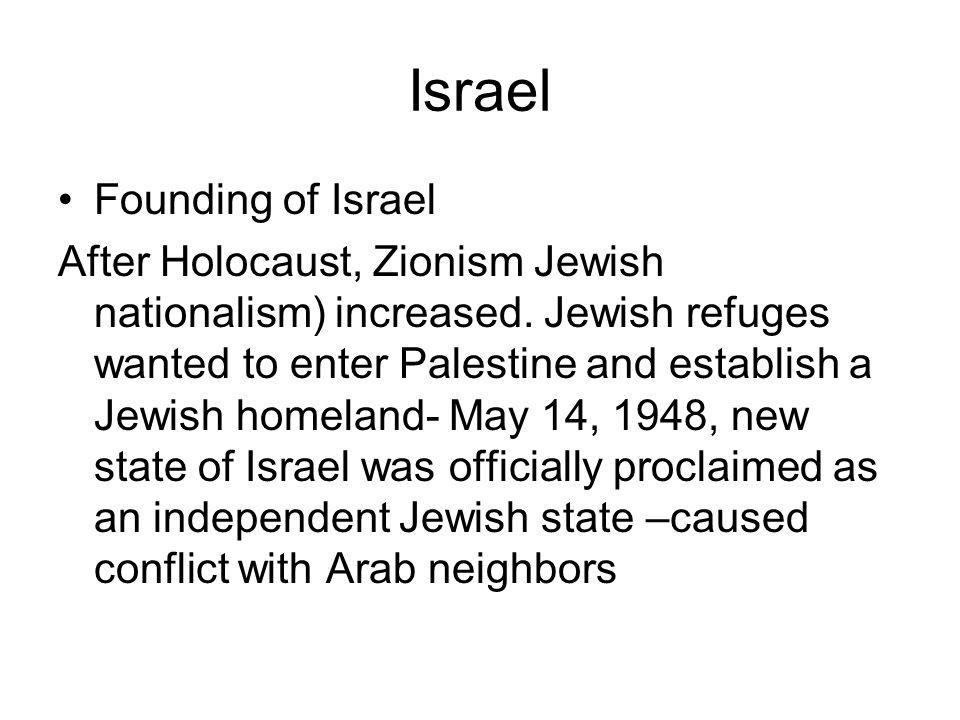Israel Founding of Israel