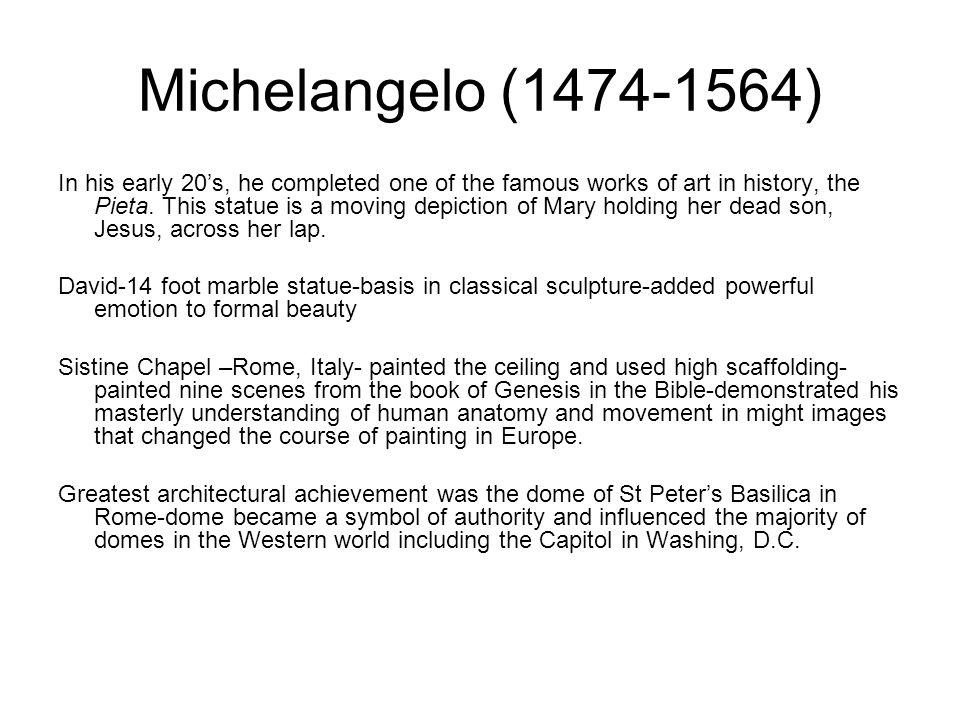 Michelangelo (1474-1564)