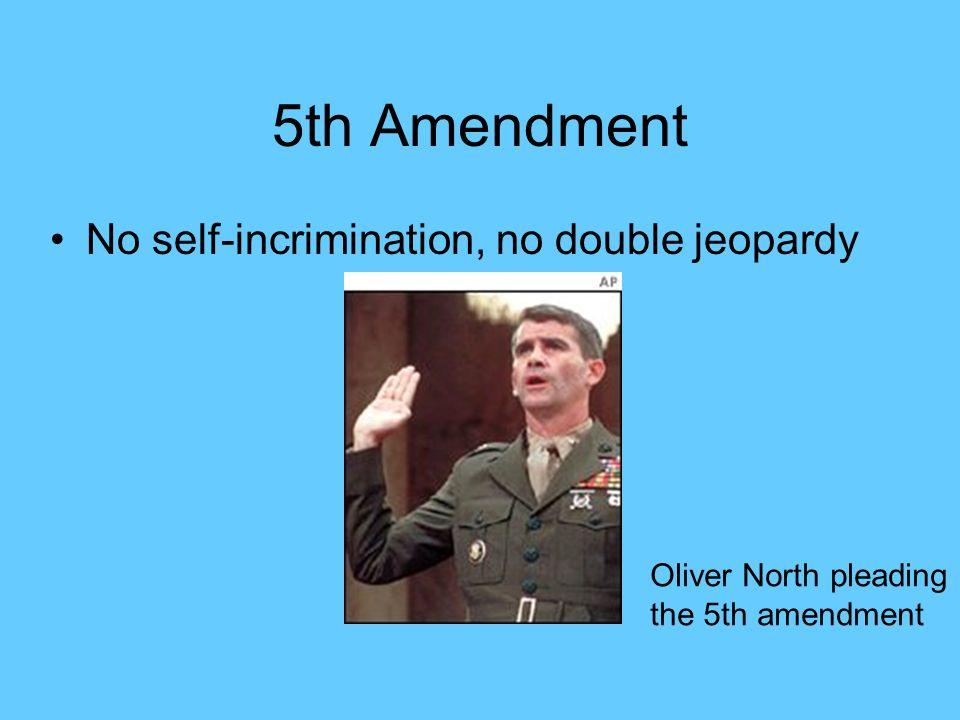 Double Jeopardy 5th Amendment Amendments to the Cons...