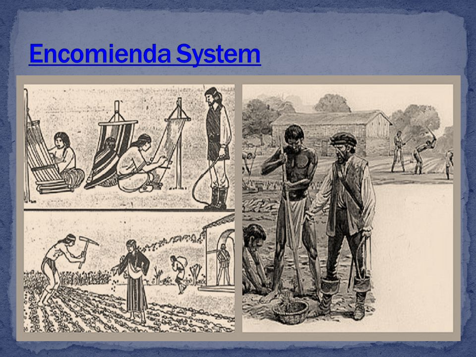 encomienda system and african slave trade similarities differences