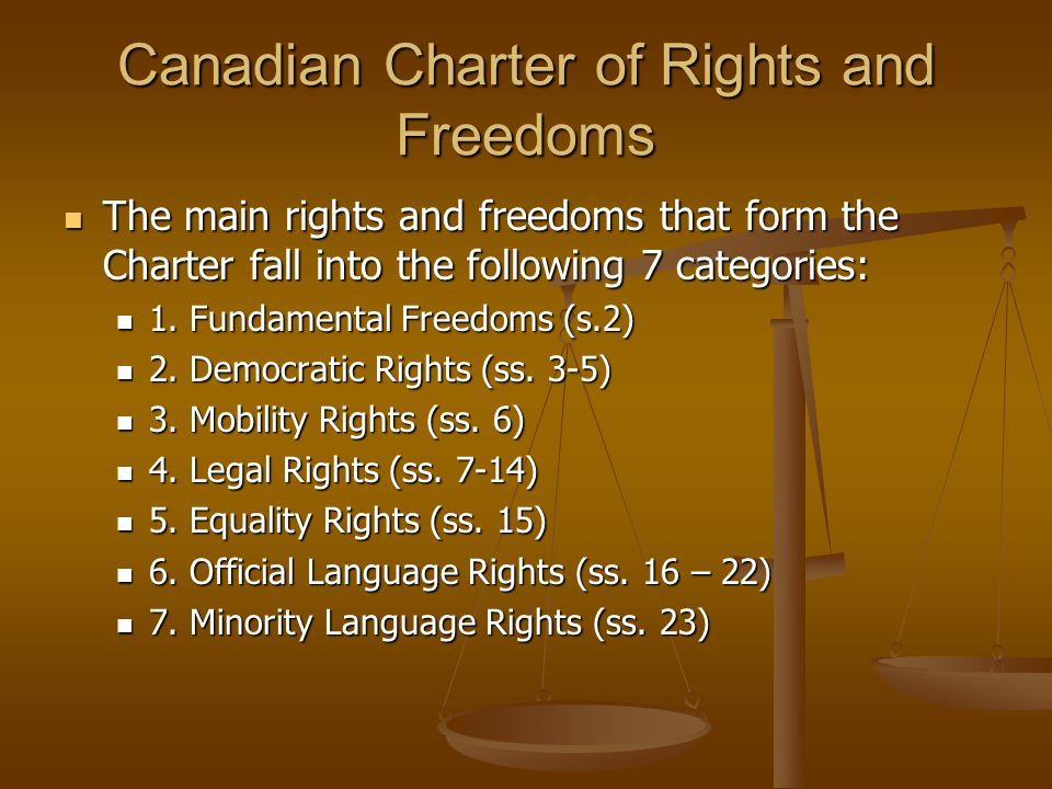 canadas charter of rights and freedoms essay The canadian charter of rights and freedoms is a central element of the canadian constitution and has a major impact on the relationship between canadians and their.