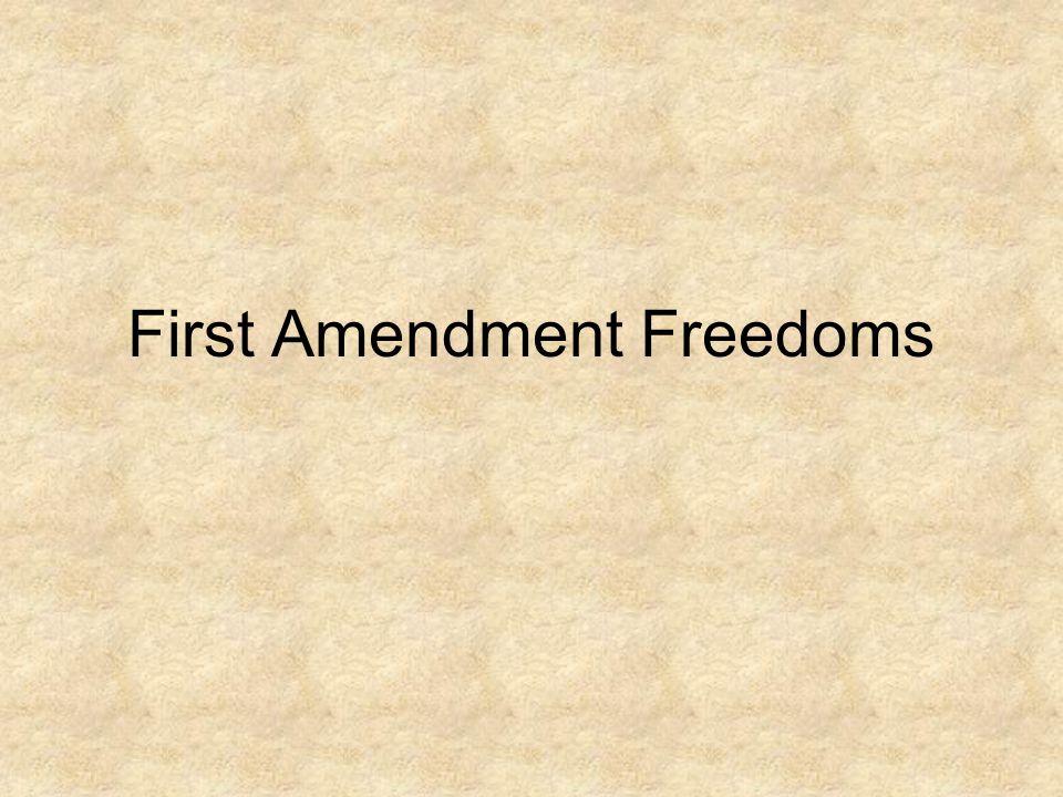 artistic freedom first amendment