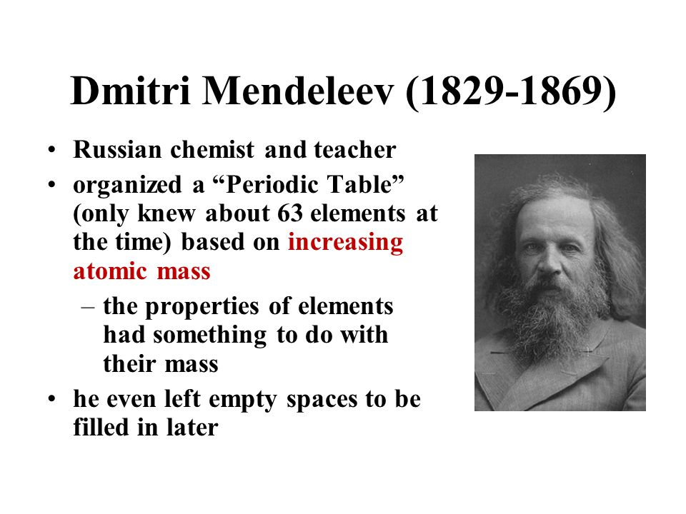 The periodic table song ppt download 5 dmitri urtaz Images