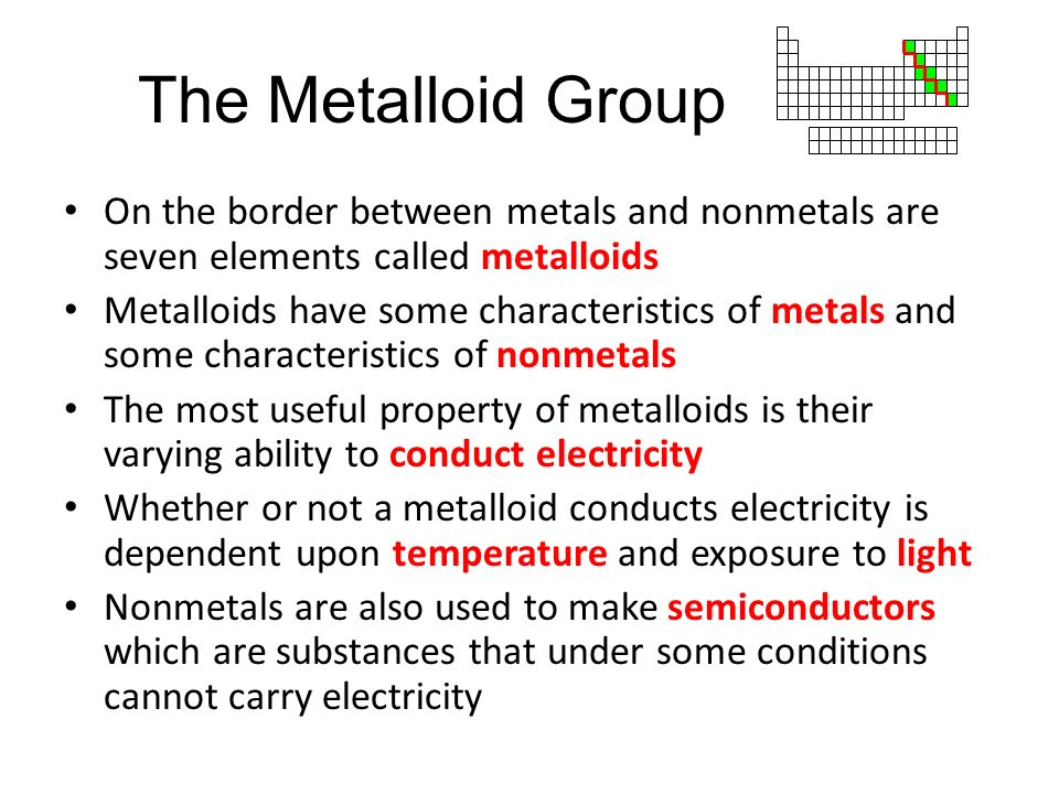 how to tell if a substance is metal or nonmetal