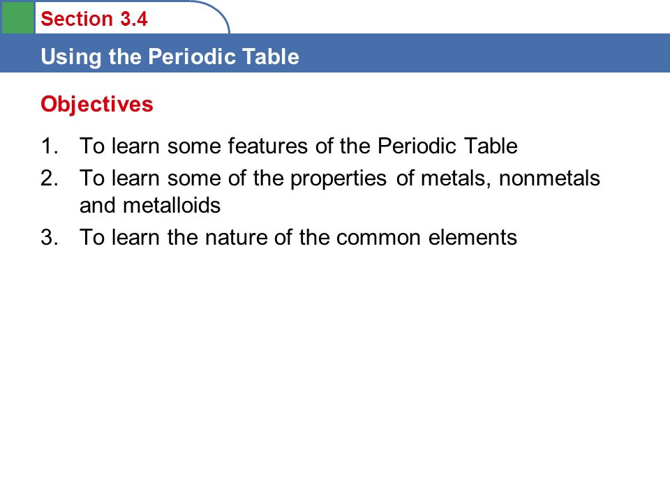 Periodic Table 10 common elements periodic table : Periodic Table » Learn The First 10 Elements Of The Periodic Table ...
