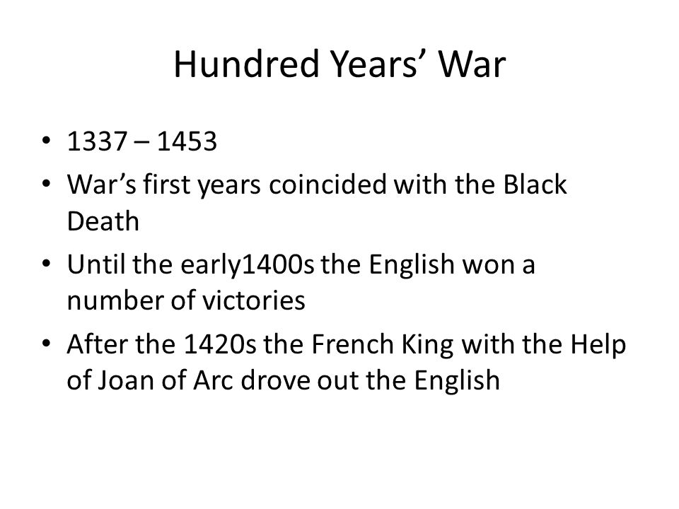 the hundred years war essay View the hundred years' war research papers on academiaedu for free.