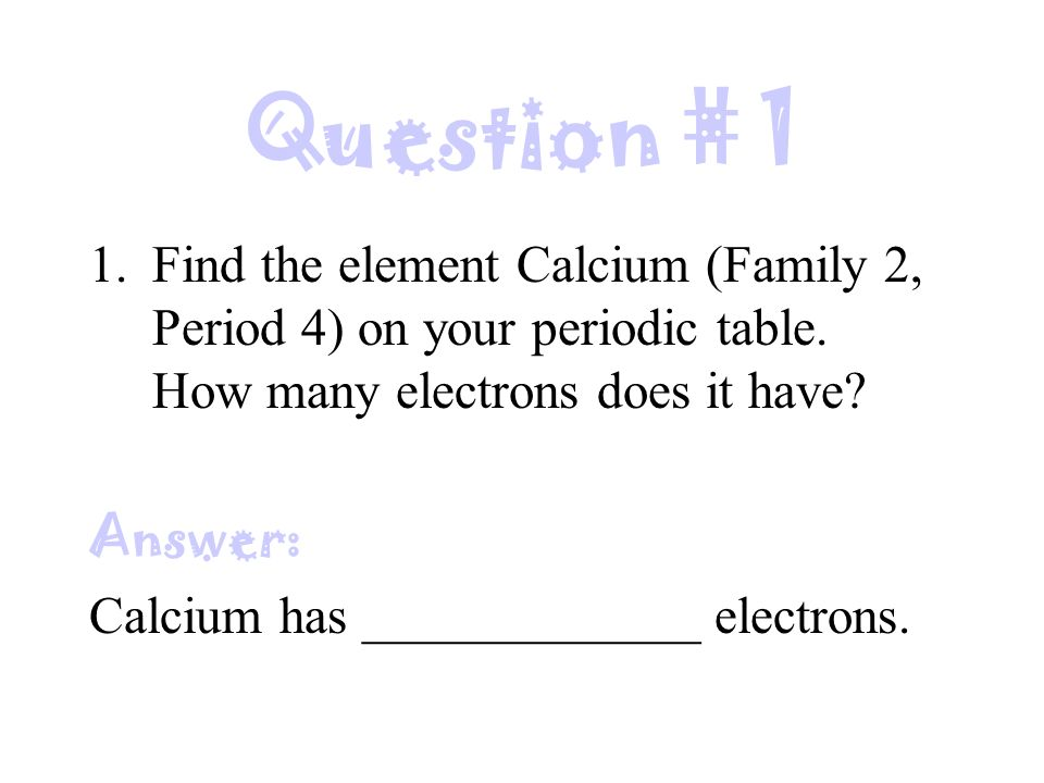 how to tell how many valence electrons an element has