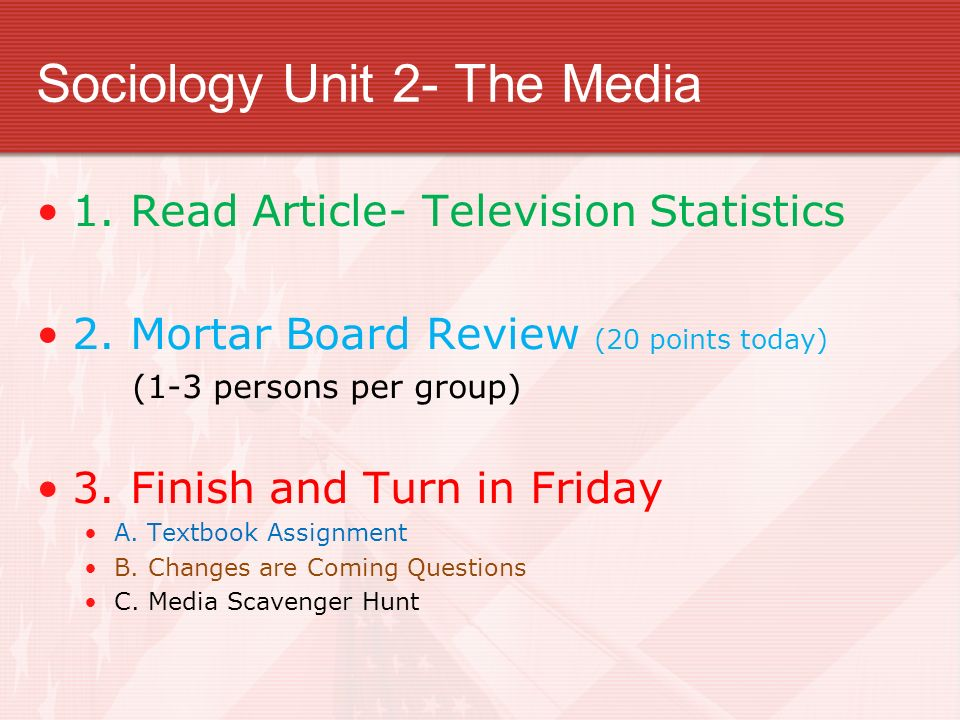 sociology homework assignment module 2 Best resources for homework help: soc - sociology course find soc - sociology assignments, discussions, quiz and final exam all our tutorials are delivered immediately via e-mail.
