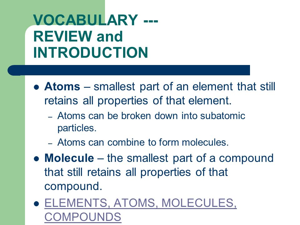 Atoms and the periodic table ppt video online download atoms and the periodic table 2 vocabulary review and introduction urtaz Choice Image