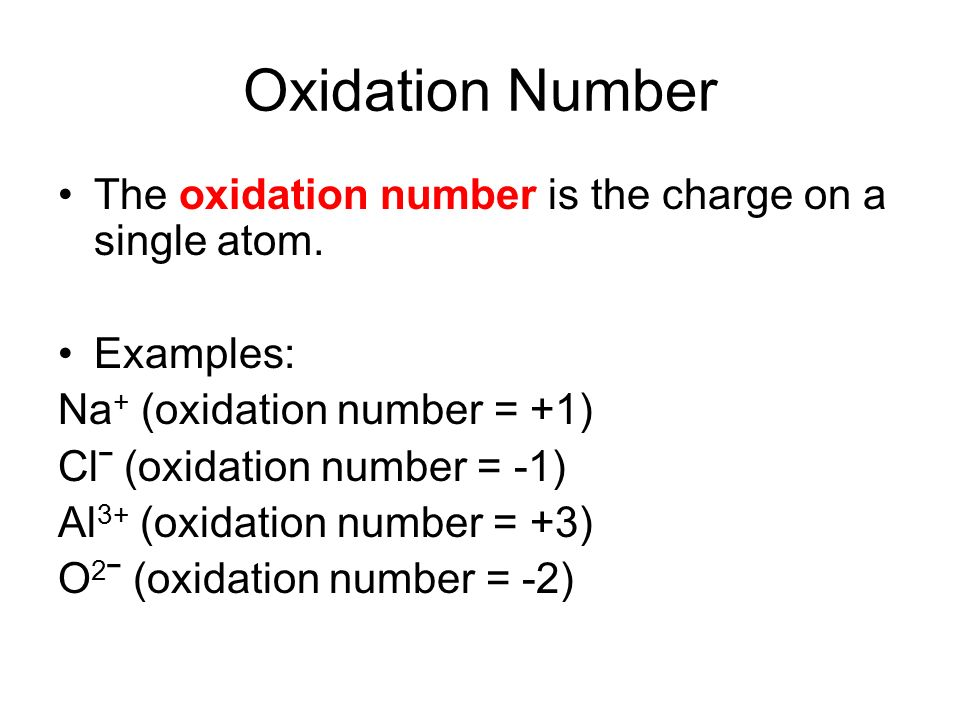 Chapter 10 Oxidation Numbers ppt download – Oxidation Numbers Worksheet