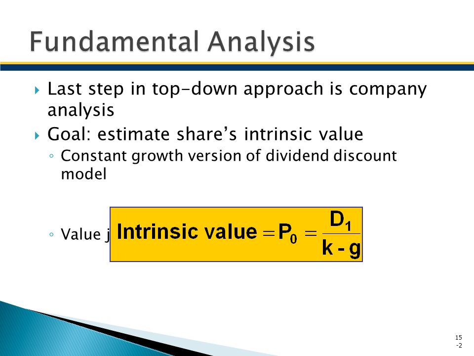 Company Analysis Chapter Ppt Video Online Download