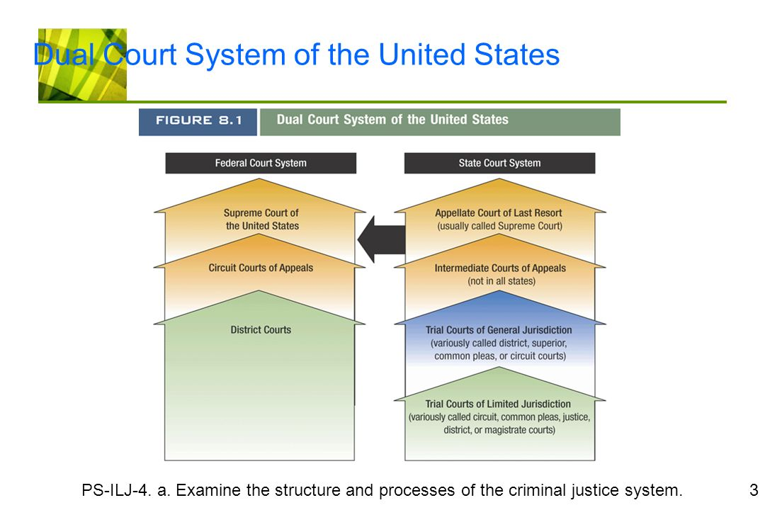 reason for a dual court system of state and federal courts A dual court system separates federal and state courts according to the book a dual court system is advantageous and desirable because it is parallel to federalism federalism is a system of government where power is constitutionally divided between central governing body and various constituent units.