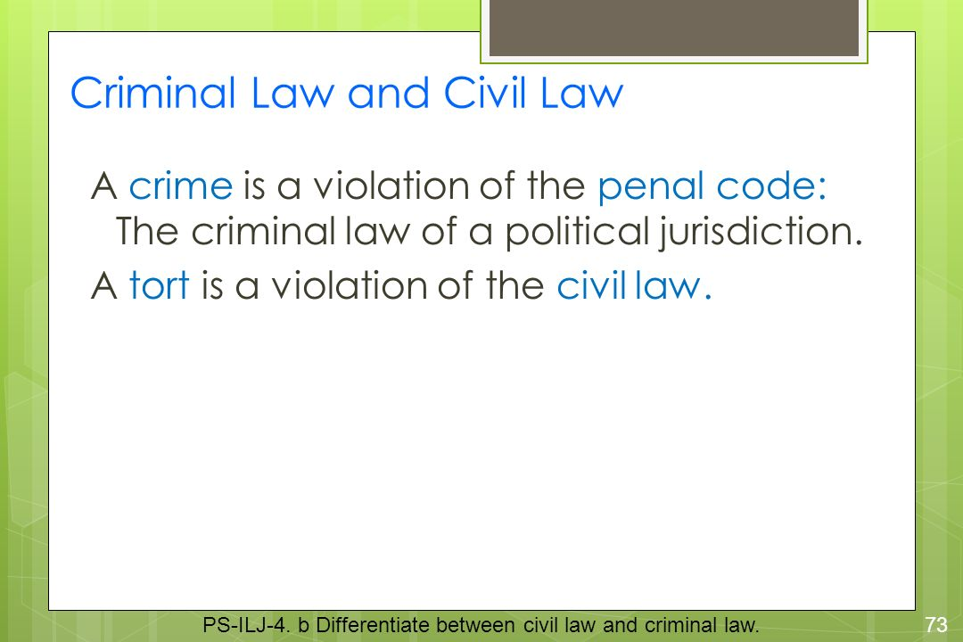 a crime is a violation of Crij 2323 final exam study play a crime is a violation of the____ of a political jurisdiction penal code the criminal law of the united states, for the most.