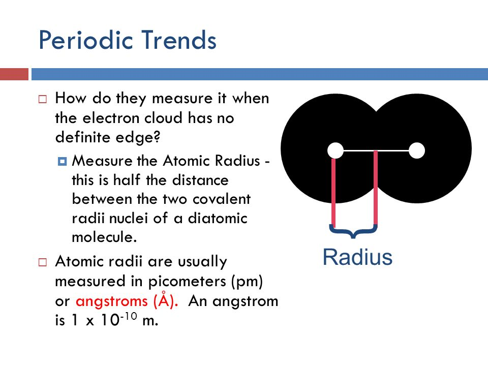 Trends of the periodic table ppt video online download periodic trends radius urtaz Images