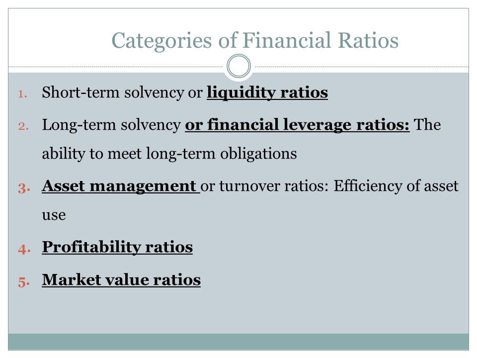 analysis of short term liquidity and long term Contain some errors, the derived numbers in terms of ratio analysis  (c) long- term borrowings are concerned about the ability of a firm to discharge  liquidity  ratios are calculated to measure the short-term solvency of the.
