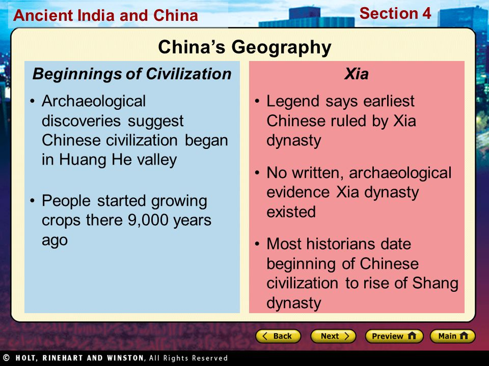 Chinas first dynasties ppt video online download 6 beginnings of civilization sciox Image collections