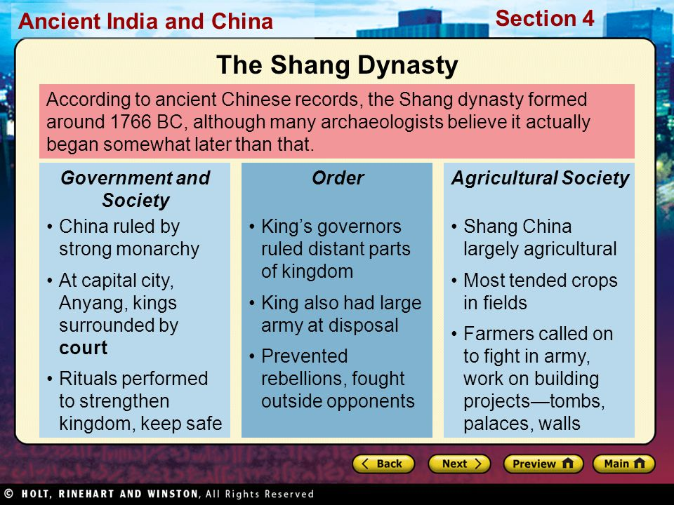 the shang dynasty and ancient egypt had many similarities The zhou dynasty (1046-256 bce) was the zhou justified the change of dynasty and their own authority by claiming that the dispossessed shang had //wwwancient.