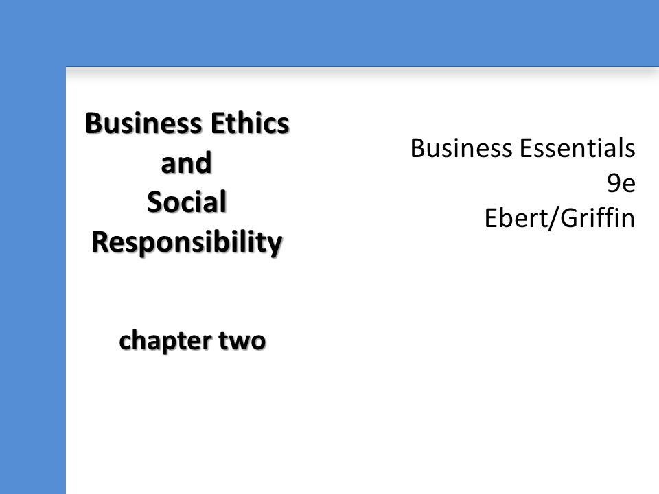 Business capitalism and social responsibility