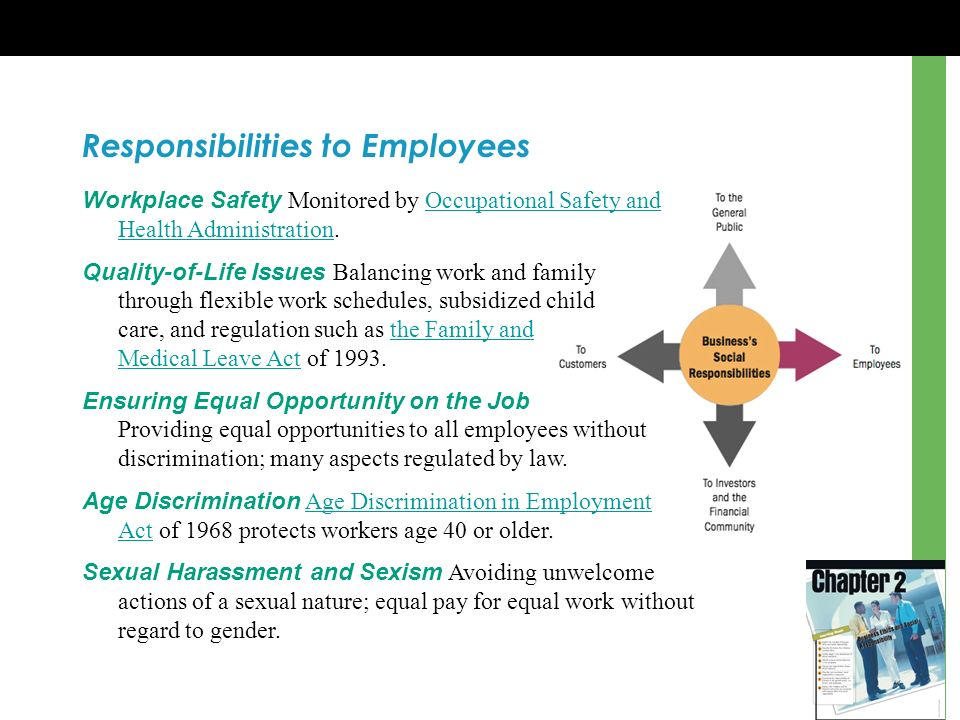 Responsibilities to Employees